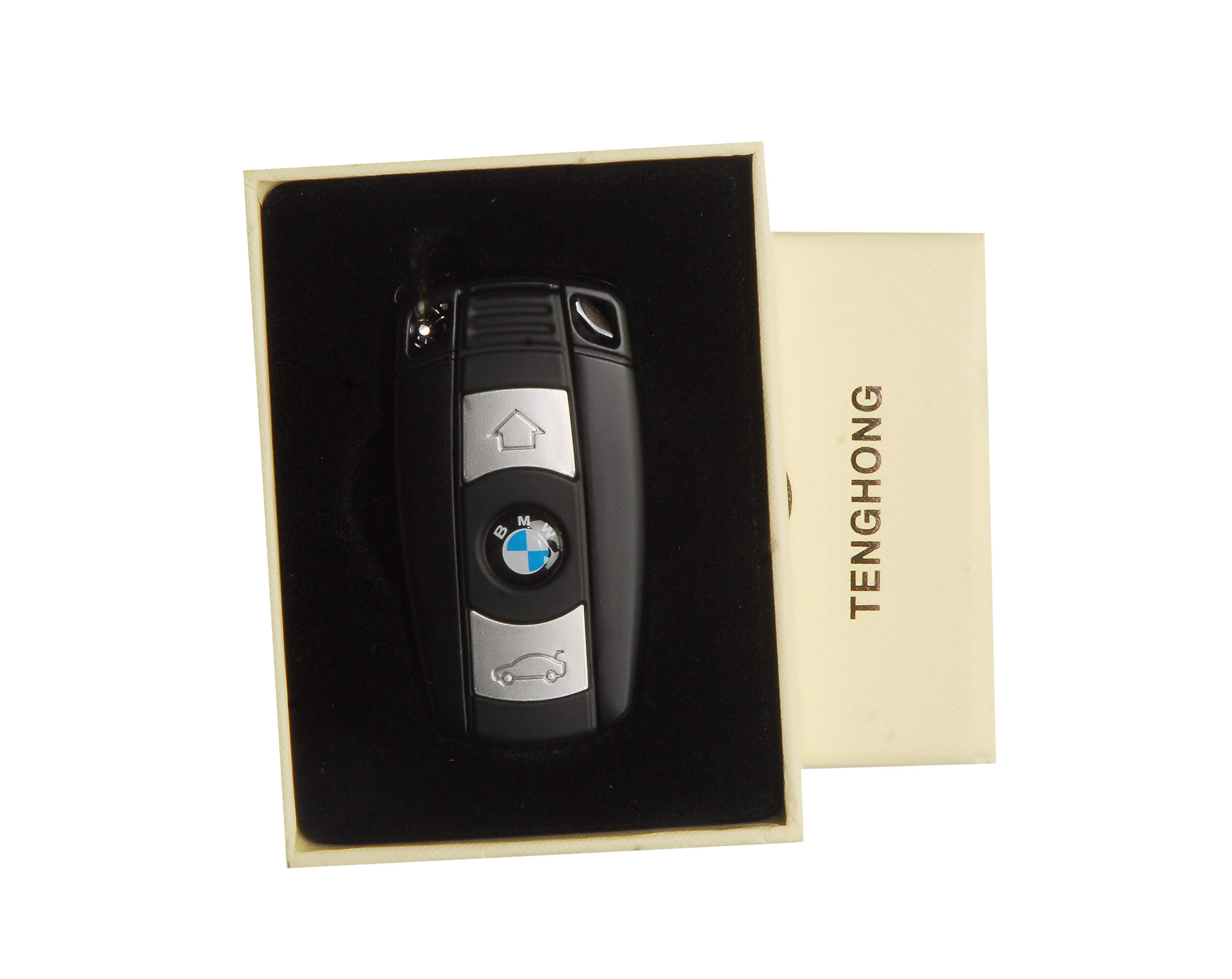 Bmw-Car-Keychain-USB-Rechargeable-Lighter