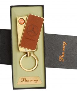 Compact-Leather-Keychain-USB-Rechargeable-Lighter-Merc