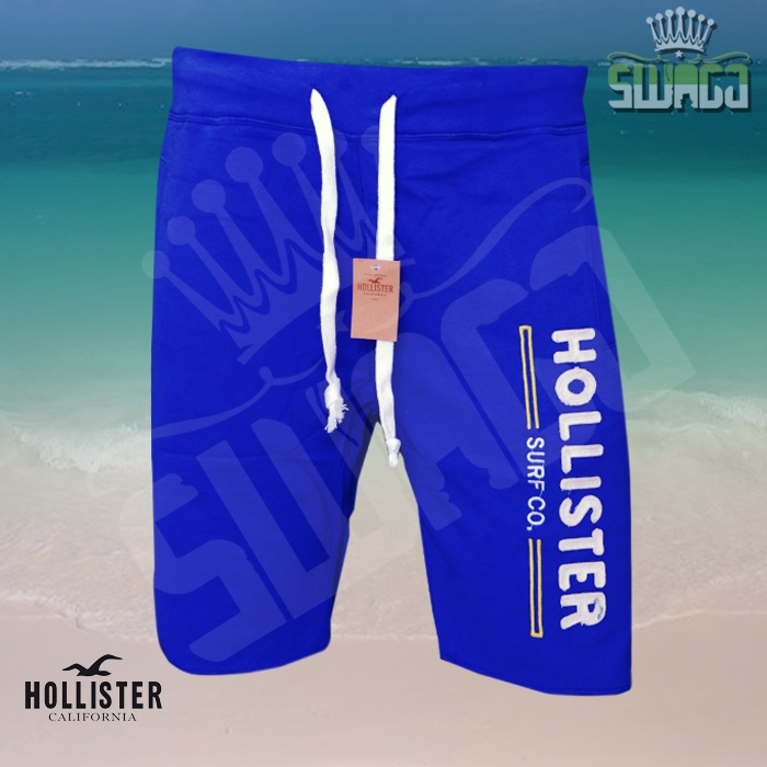 Hollister-Embroidered-Logo-Fleece-Sweat-Shorts