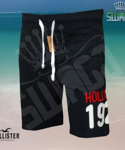 Hollister-Fleece-Logo-Jogger-Shorts