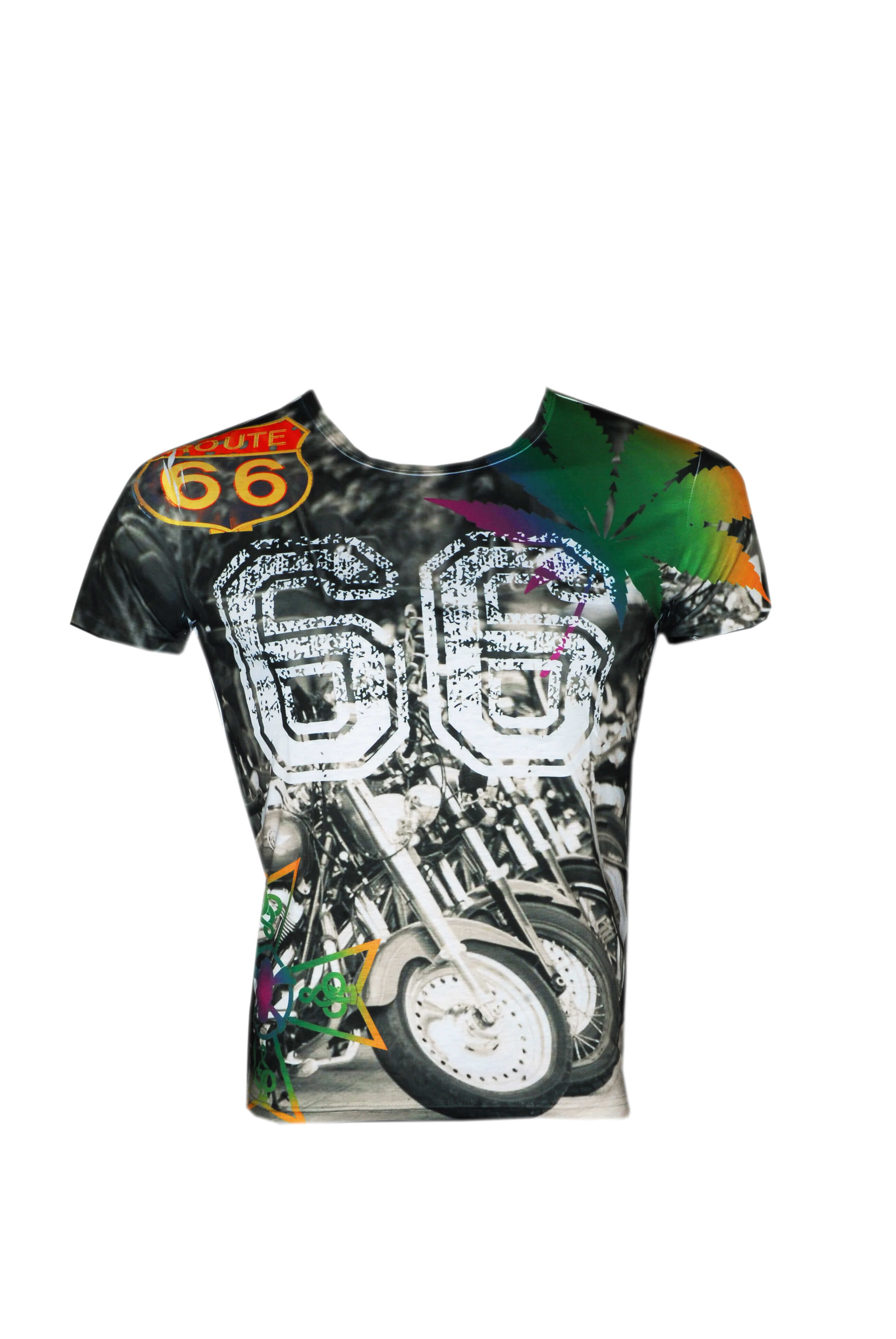 Love-Moschino-Printed-Roundneck-Tee-Easyfit